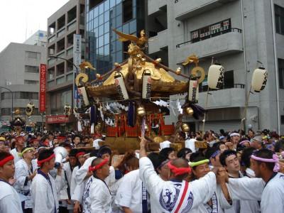 立川の夏・祭(神輿)