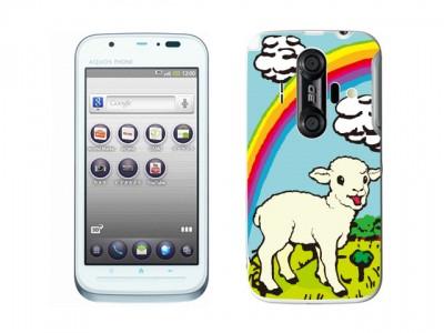 AQUOS PHONE IS12SH用背面スキンカバー
